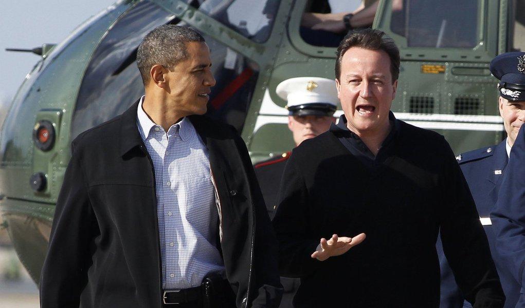Obama e Cameron discutirão retirada afegã, Síria e Irã