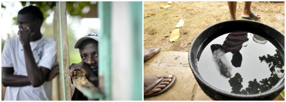 RS: Haitianos enviam parte do salário a parentes
