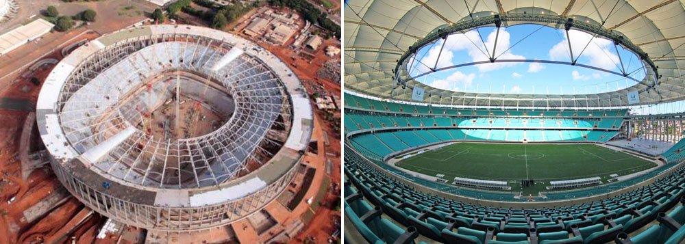 Salvador pode abrir a Copa das Confederações
