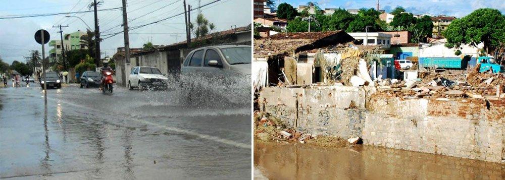 Chuvas em Maceió superam previsão