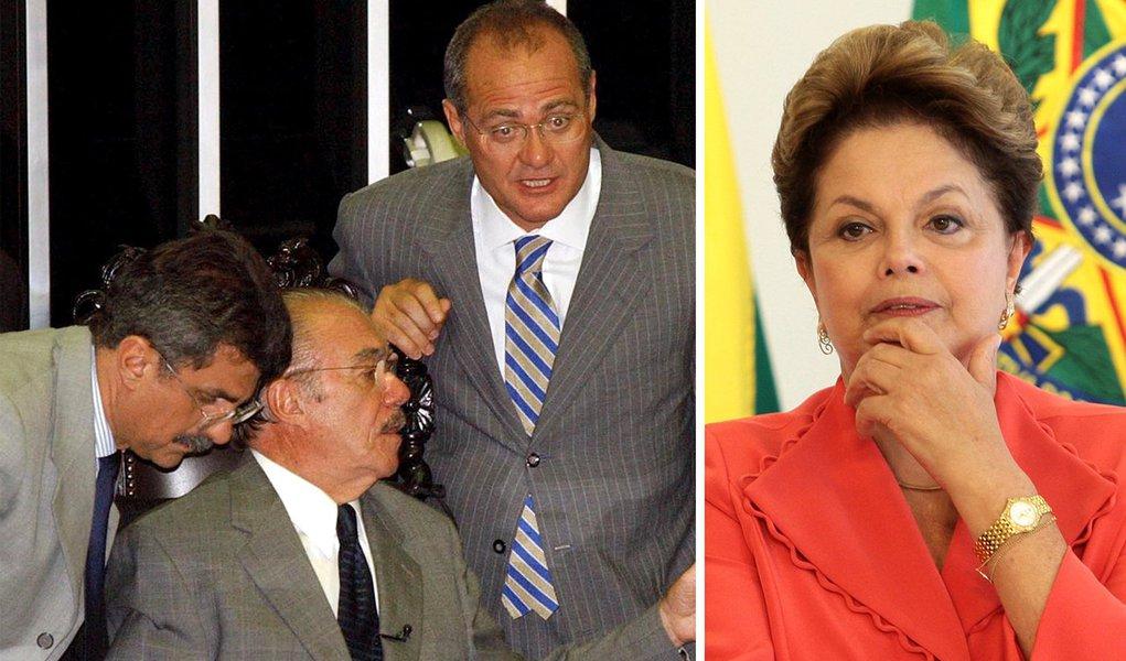 Dilma vai à guerra contra caciques do PMDB