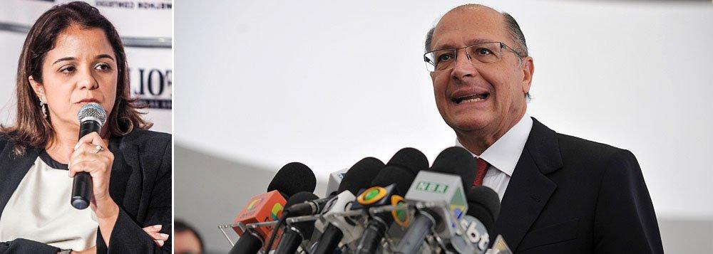 'Segurança pode vencer Alckmin no palanque'