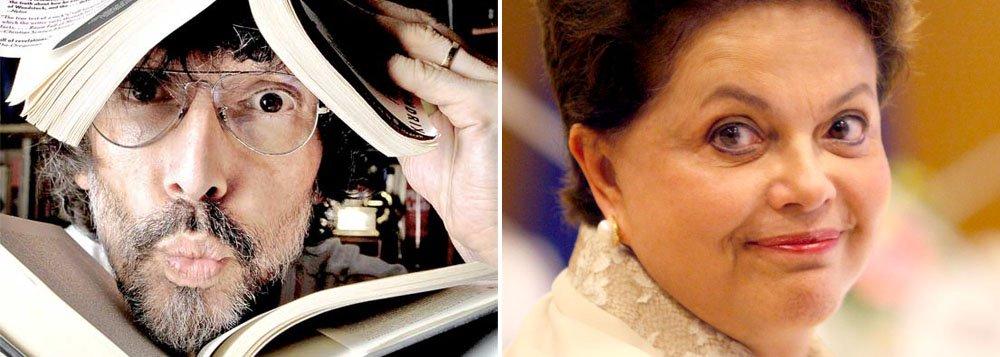 Em livro, Lobão chama Dilma de torturadora