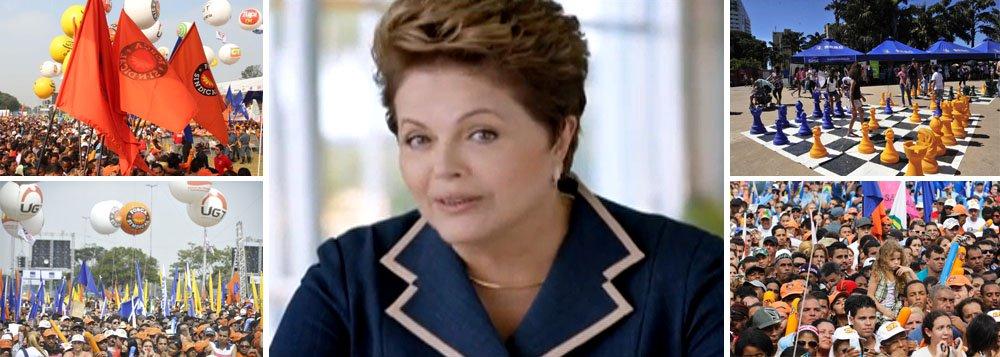 Após ataques da oposição, Dilma faz pronunciamento