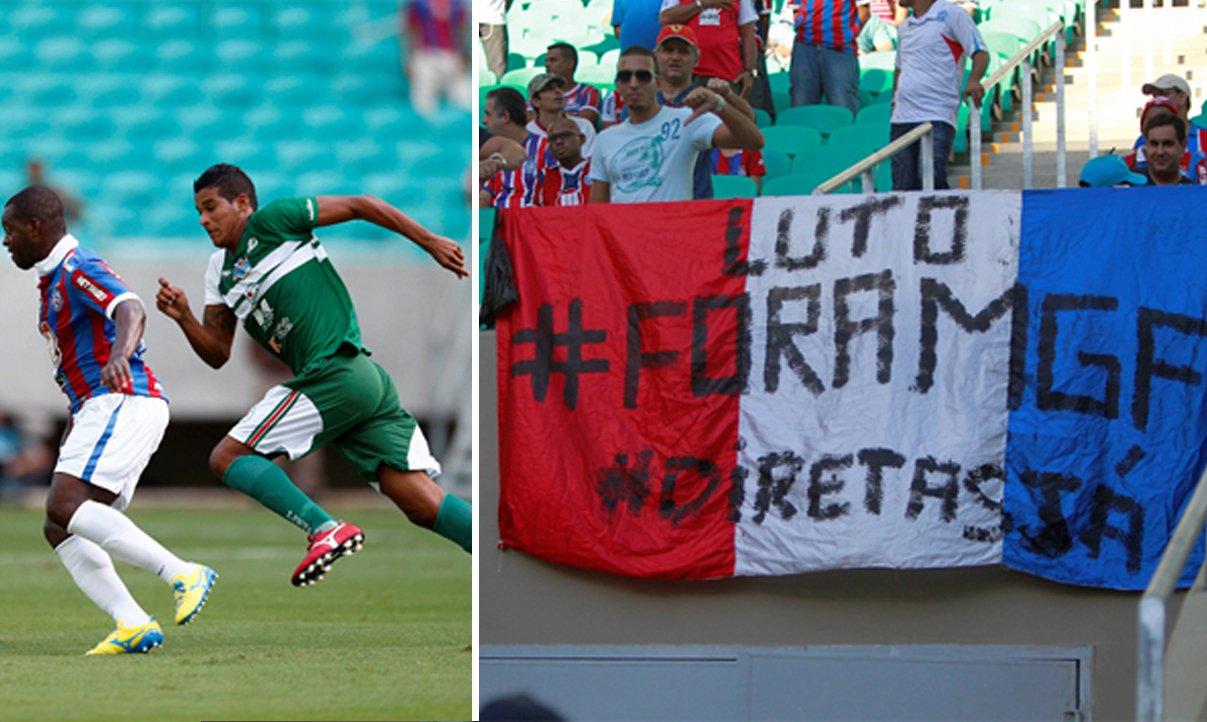 Bahia desencanta e vence Juazeiro por 2 a 0 na Arena