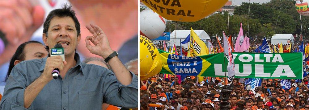 Haddad: Quem sabe Lula volta à presidência