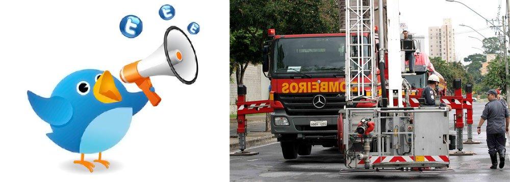 Bombeiros de Minas agora atendem pelo Twitter