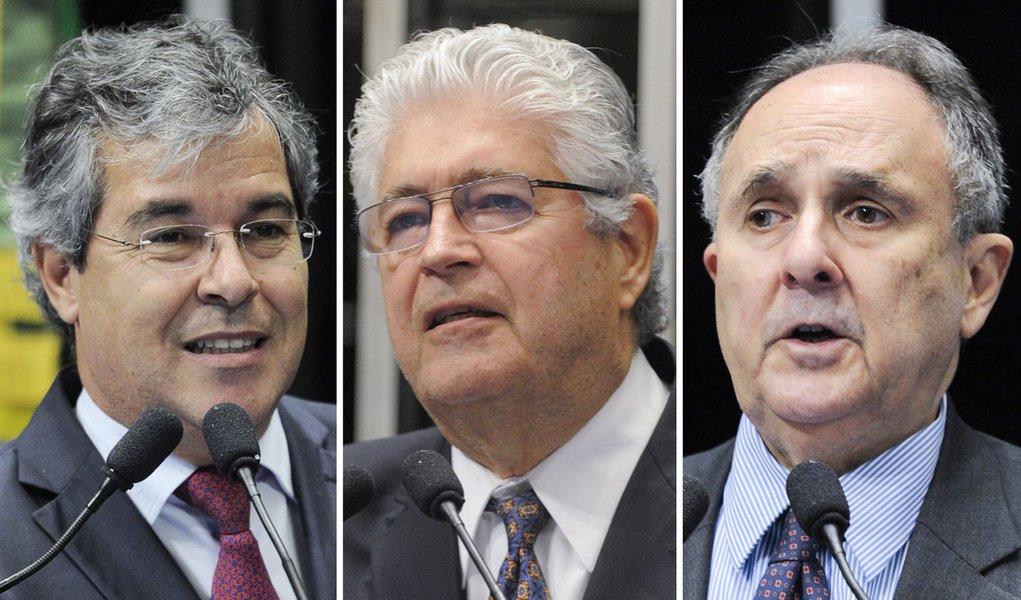 """Senadores criticam """"beija-mão"""" de colegas no STF"""