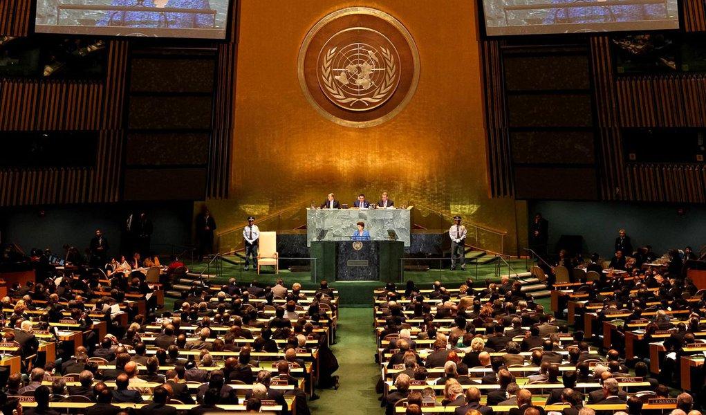 Plenário da Assembleia Geral da ONU