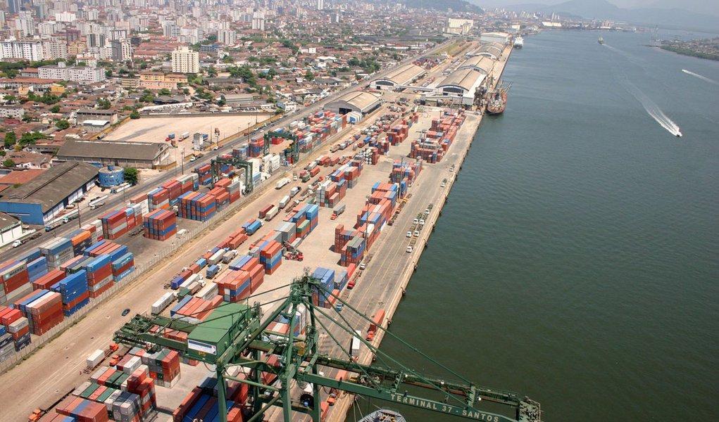 Mais agilidade nos portos