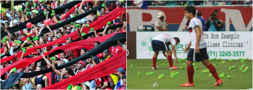 Fifa revê uso de caxirolas após confusão na Arena