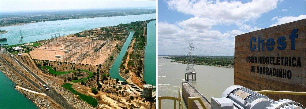 Chesf vai reduzir vazão de usinas em função da seca