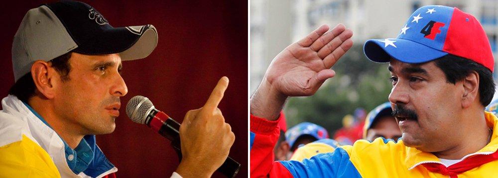 Oposição venezuelana quer impugnação de resultado eleitoral
