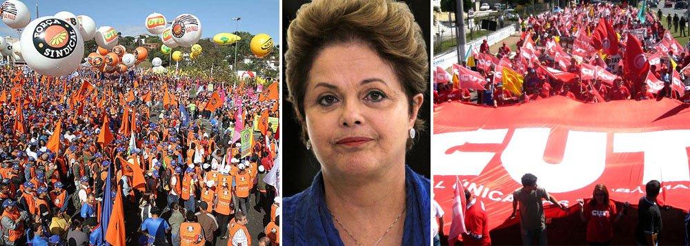 Sob ameaça de ato hostil, Dilma não irá ao 1° de Maio
