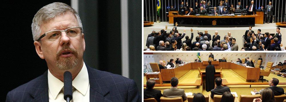 Ex-presidente da Câmara, Maia tenta conter STF