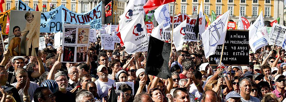 Novo protesto contra austeridade promete parar a Europa
