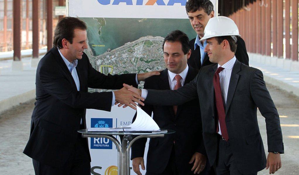 Acordo do Porto Olímpico sela visita do COI
