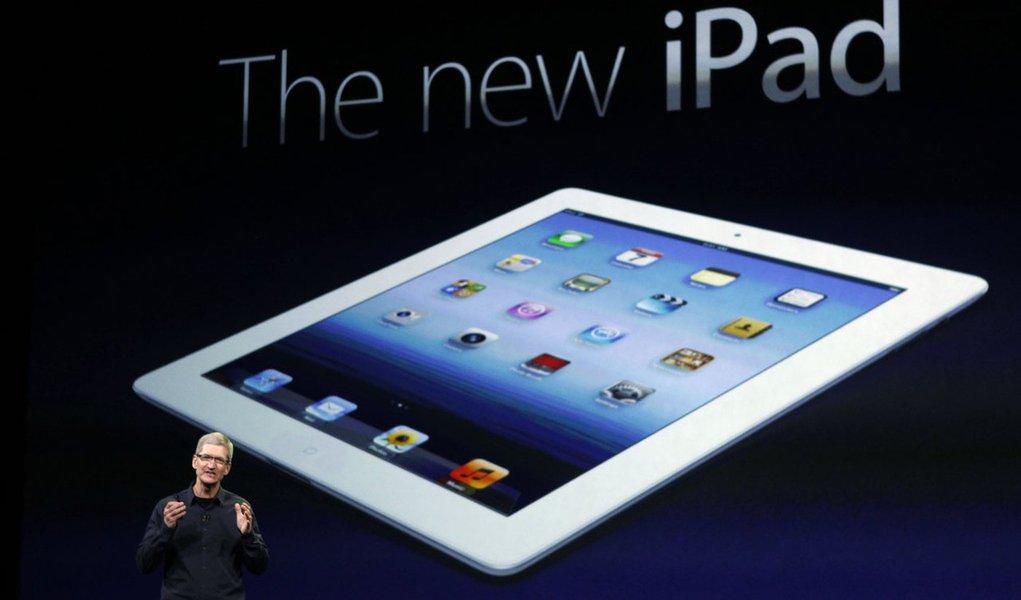 "Apple apresenta o aguardado ""novo iPad"""