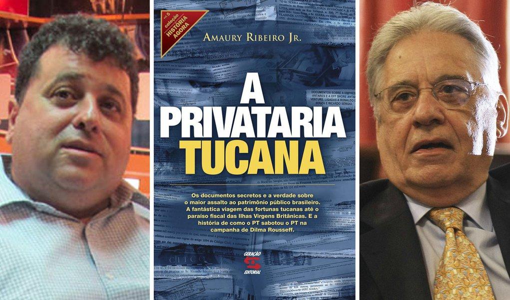 Autor de Privataria Tucana se lança à ABL contra FHC