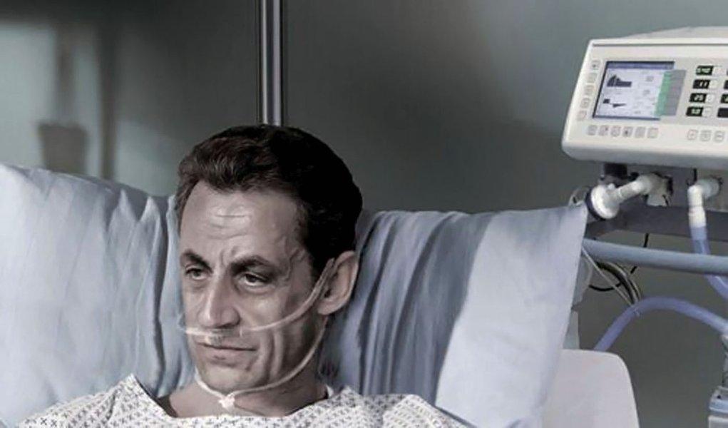 Associação pró-eutanásia leva Sarkozy para cama de hospital