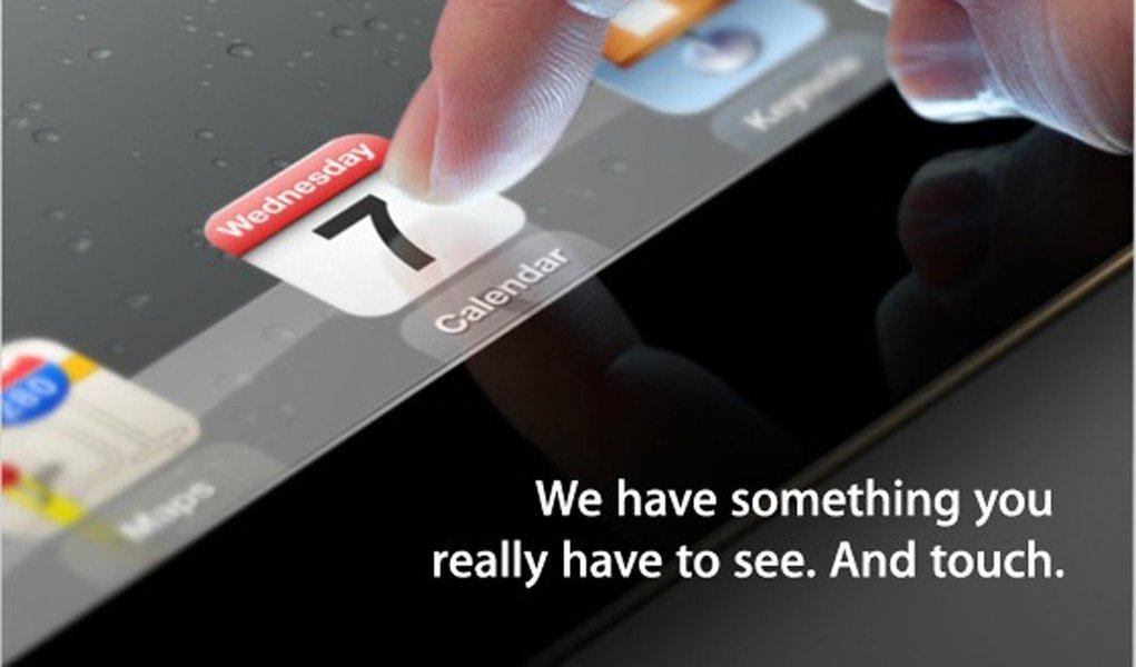 Apple apresenta hoje o iPad 3