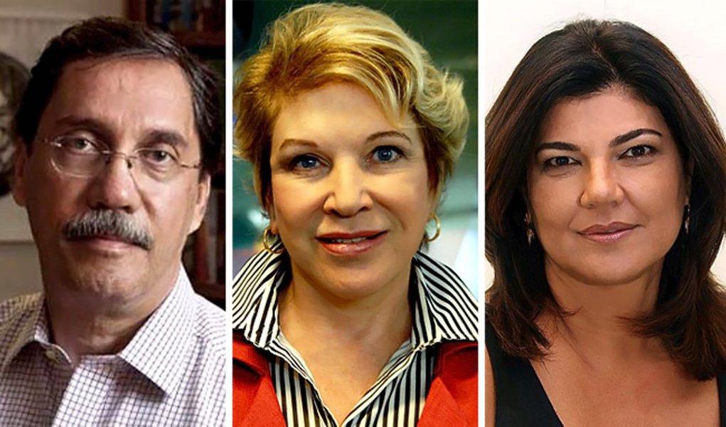"""Merval e Lobo, da Globo, reforçam """"Volta, Marta"""""""