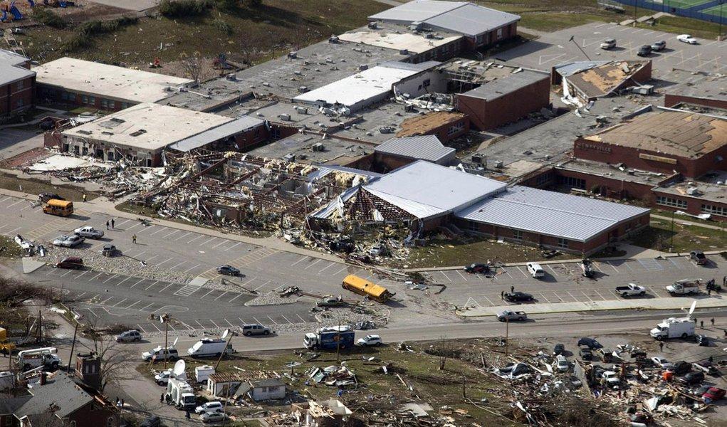 Já são 37 os mortos em tempestades nos EUA
