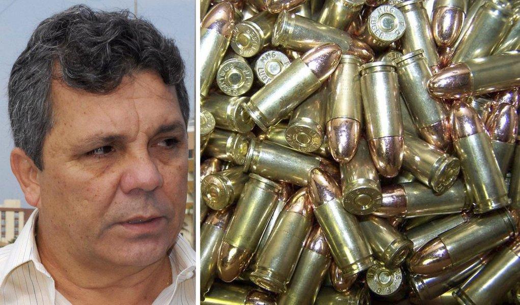 Ex-deputado do DEM tinha 1.400 balas em casa