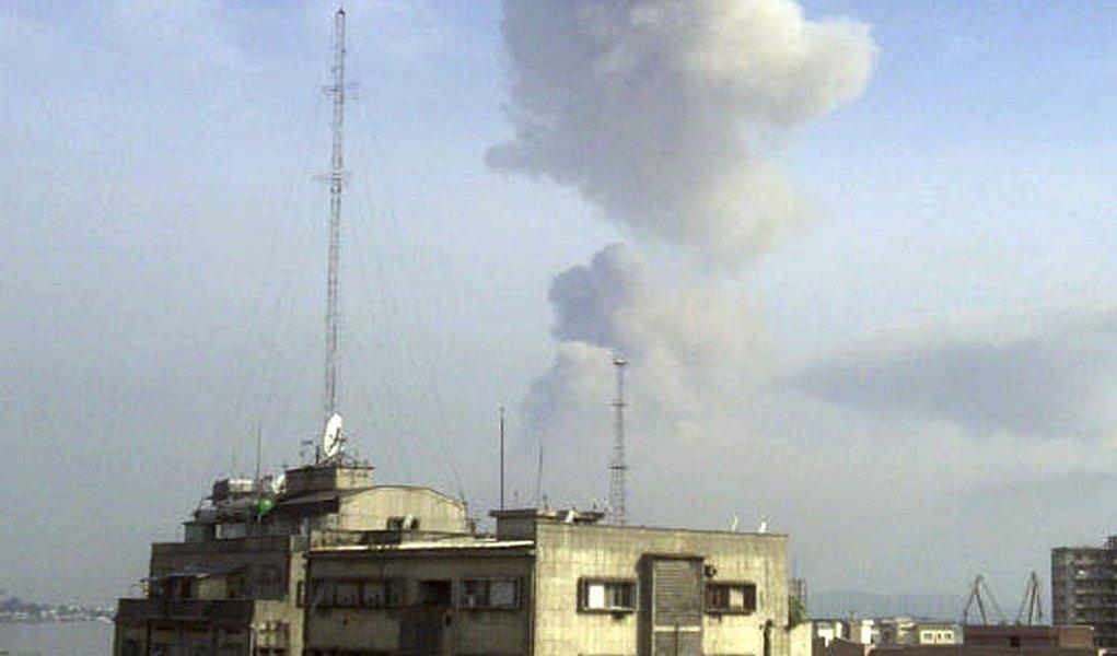 Explosão no Congo mata 200