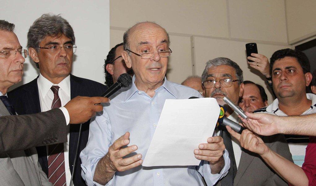 Na primeira chance, Serra já nacionaliza eleição de SP