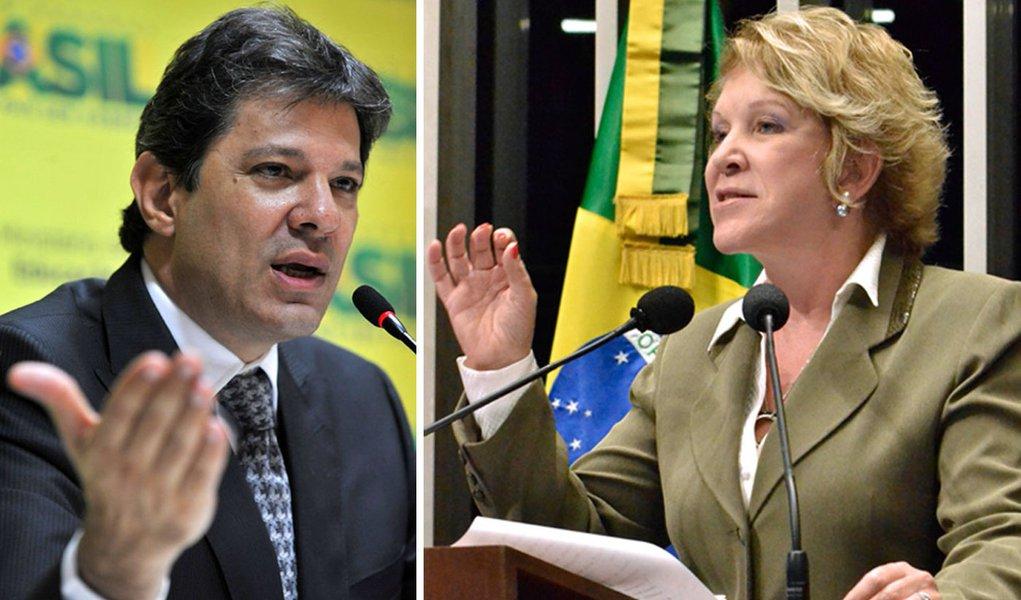 O PT errou em São Paulo, critica Marta