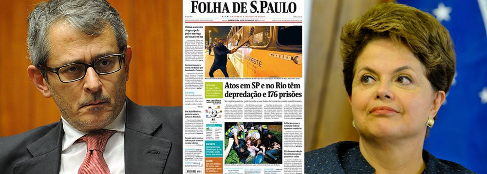 Ombudsman confirma erro da Folha contra Dilma
