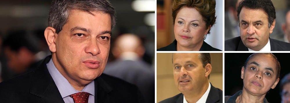 """Pestana ao 247: """"Dilma tem vocação para o erro"""""""