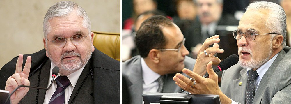 Gurgel reafirma: Genoino e Cunha 'não deveriam estar' na Câmara