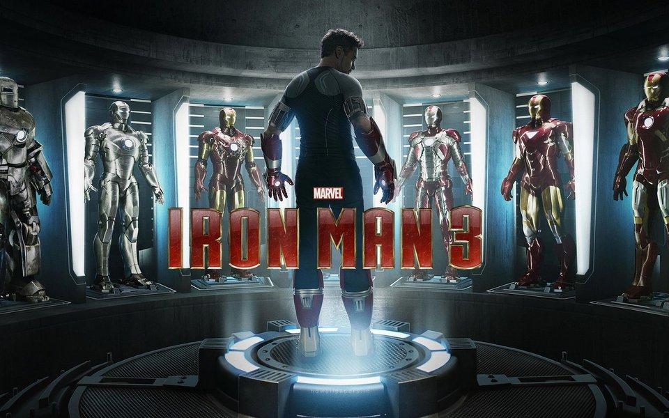 """""""Homem de Ferro 3"""" pouco empolga, até na ação"""