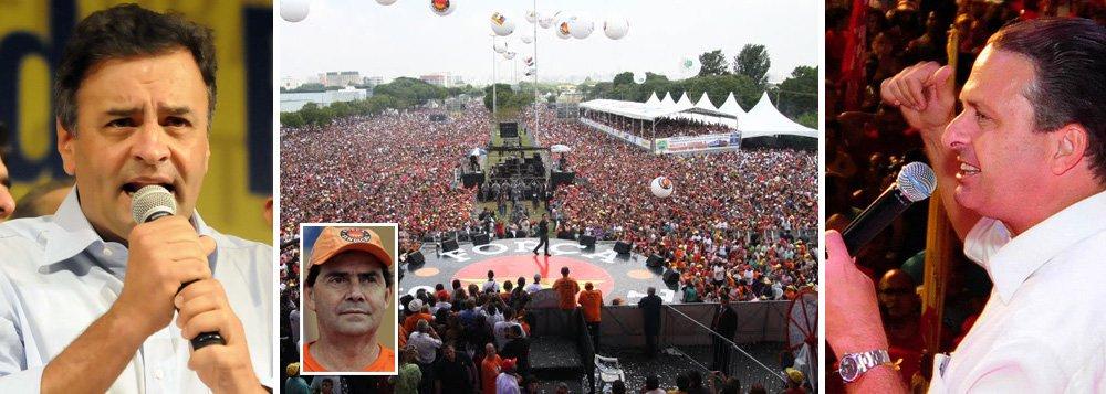 Paulinho torna 1º de Maio comício da oposição