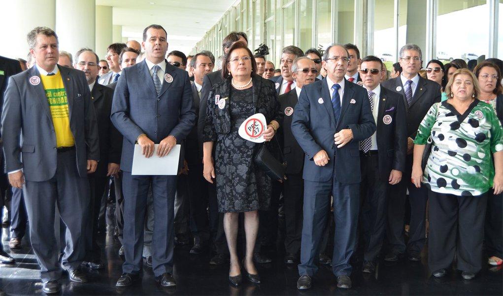 MP promete mobilização contra 'PEC da Impunidade'