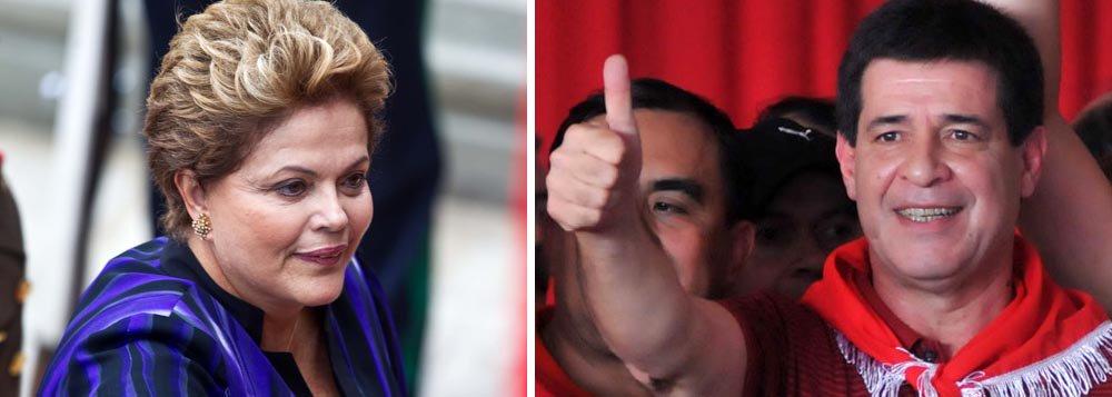 Dilma telefona ao presidente eleito do Paraguai