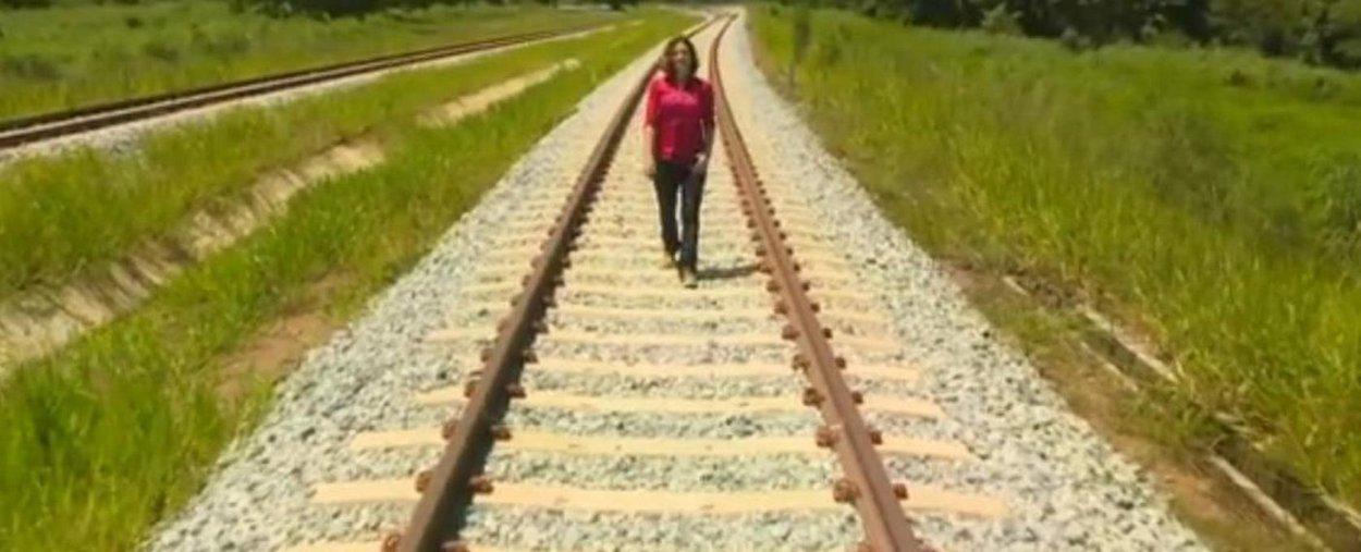 Fantástico mostra a novela da Ferrovia Norte-Sul
