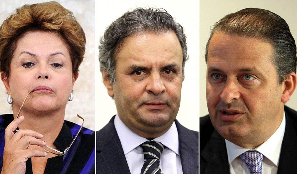 Mercado prefere Campos e Aécio, mas aposta em Dilma