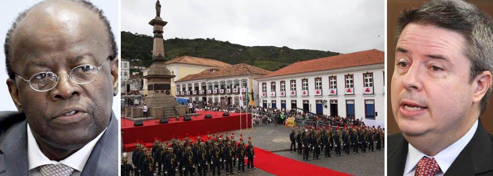 Barbosa testa, em Minas, a qualidade de equilibrista