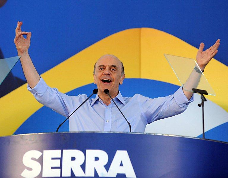 Serra quer, sim, a presidência em 2014