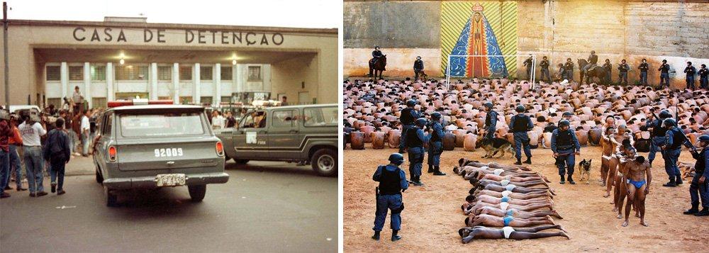 MP: polícia plantou armas no massacre do Carandiru