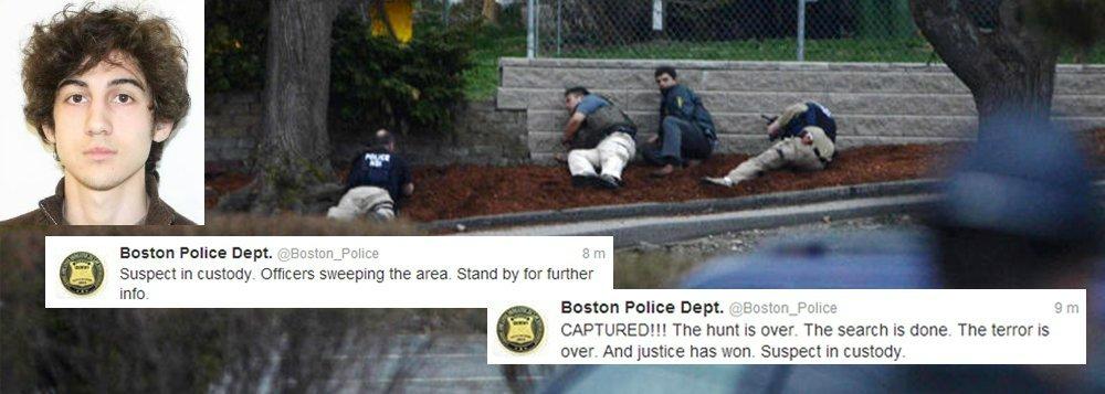 Polícia detém 2º suspeito do atentado de Boston