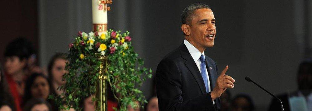 """Obama em Boston: """"Escolheram a cidade errada"""""""