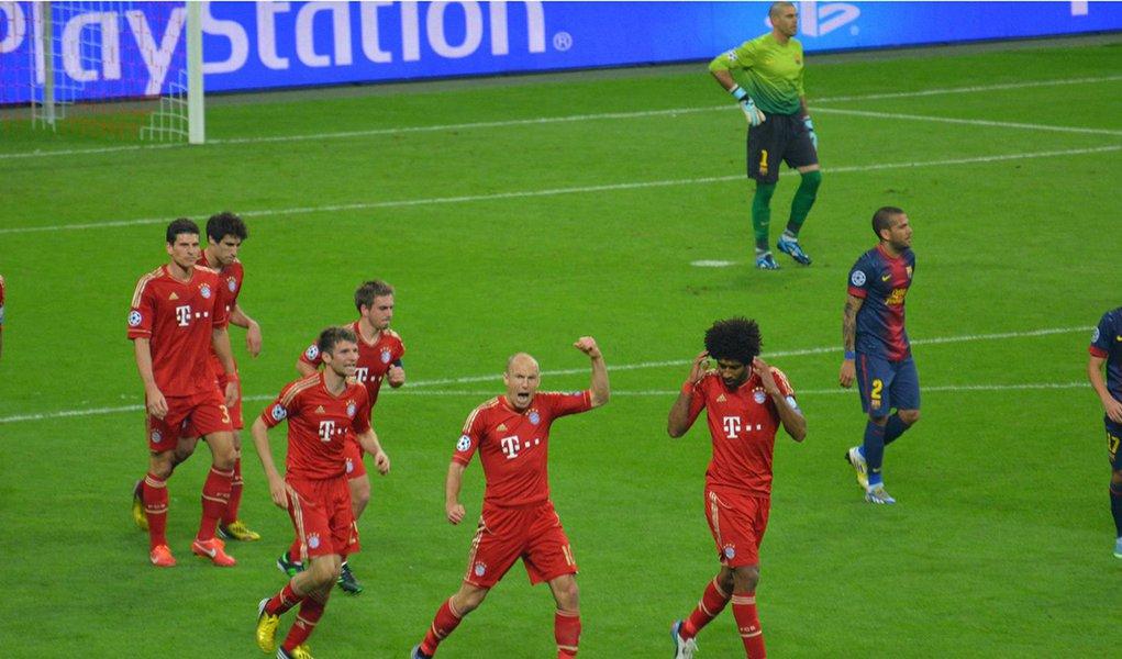 Barcelona cai de 4x0 para o Bayern