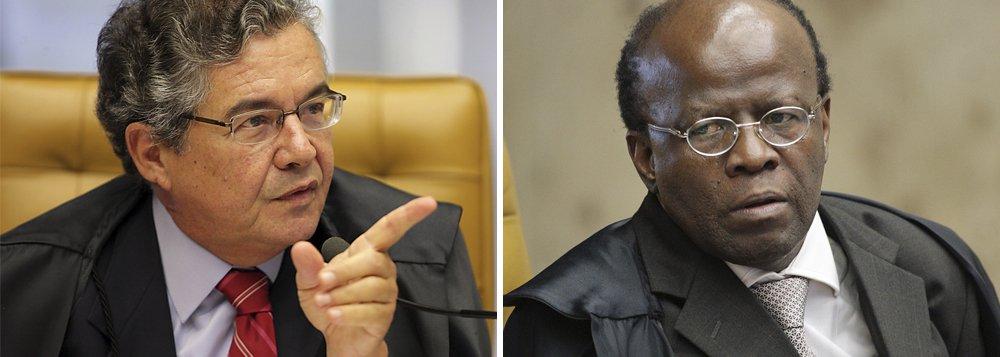 Mello peita Barbosa por amplo acesso a votos