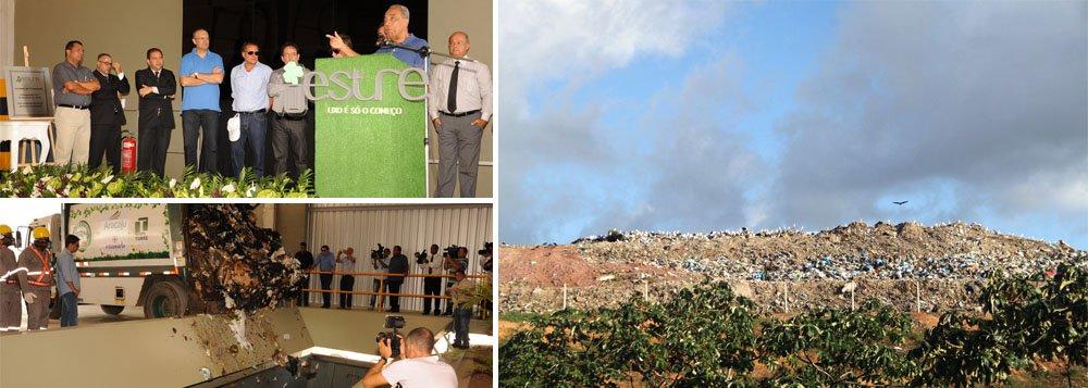 Lixões desativados; próximo passo é recuperar Santa Maria e Palestina