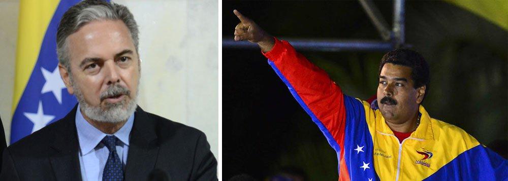 Patriota parabeniza Maduro pela vitória na Venezuela