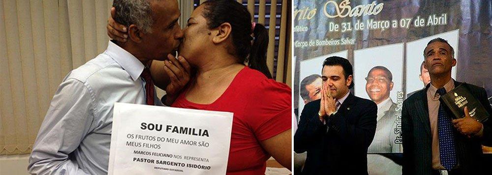"""""""Ex-gay"""", deputado Pastor Isidório teme """"recaída"""""""
